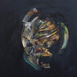 abstract portrait modern art