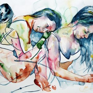 movement life painting watercolour buy art sydney