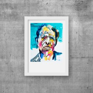 art print tom waits