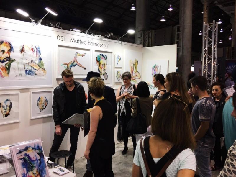 Matteo Bernasconi art exhibition