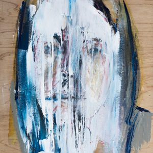 contemporary abstract portrait art