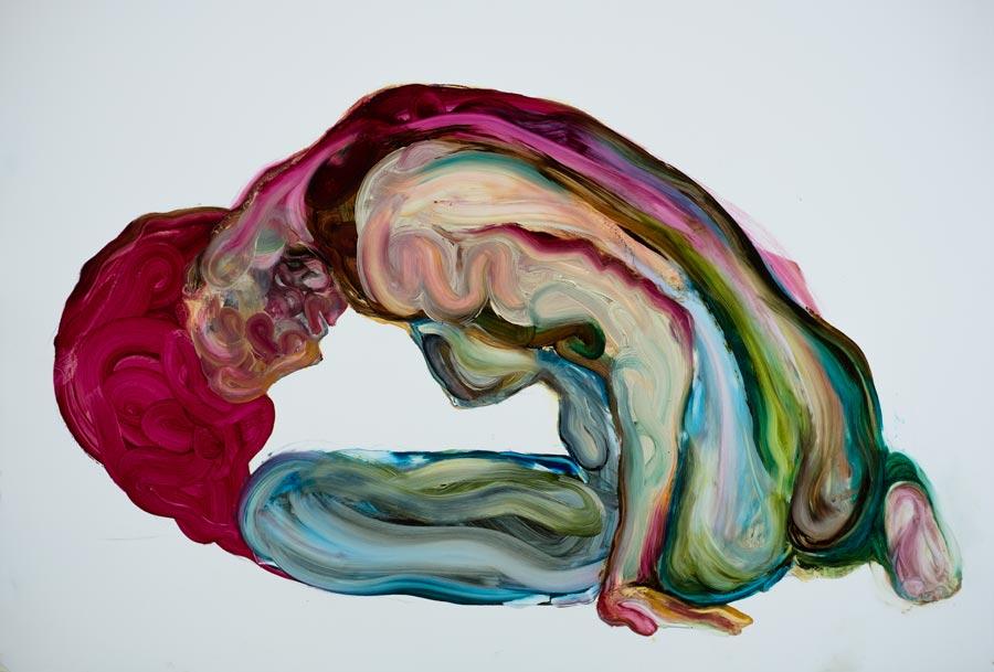 modern art oil painting beautiful engaging art