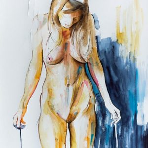 modern art painting nude on sale