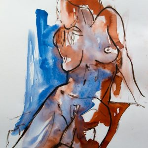 painting ink modern art model sale