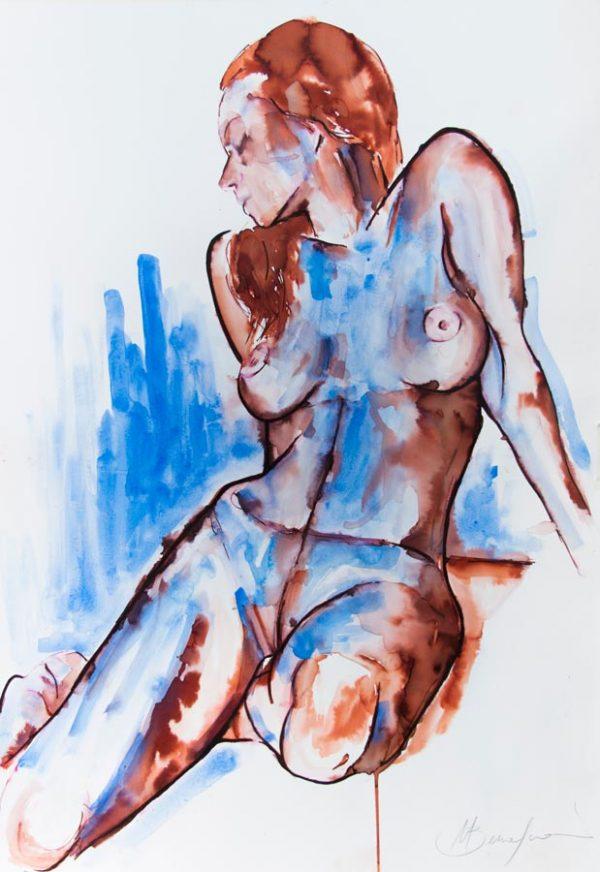 painting on sale original unique nude modern art